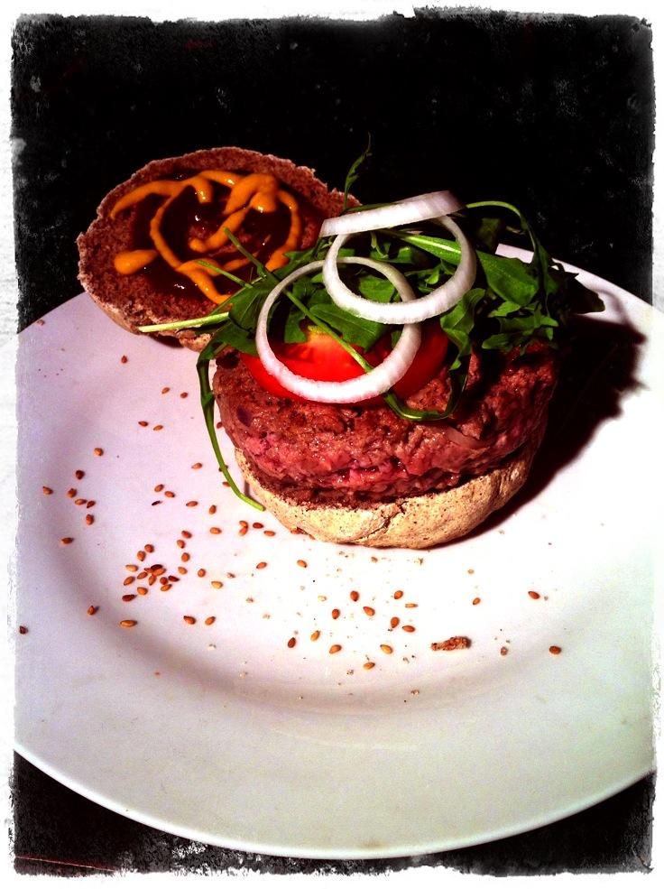 המבורגר ללא גלוטן