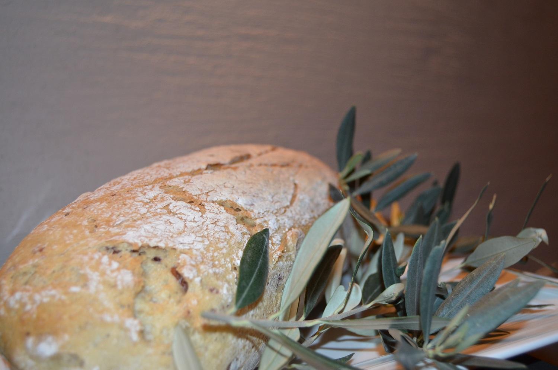לחם זיתים אוורירי ללא גלוטן