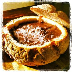 קערת לחם למרק או סלט – ללא גלוטן