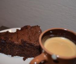 עוגת שוקולד אספרסו ללא גלוטן