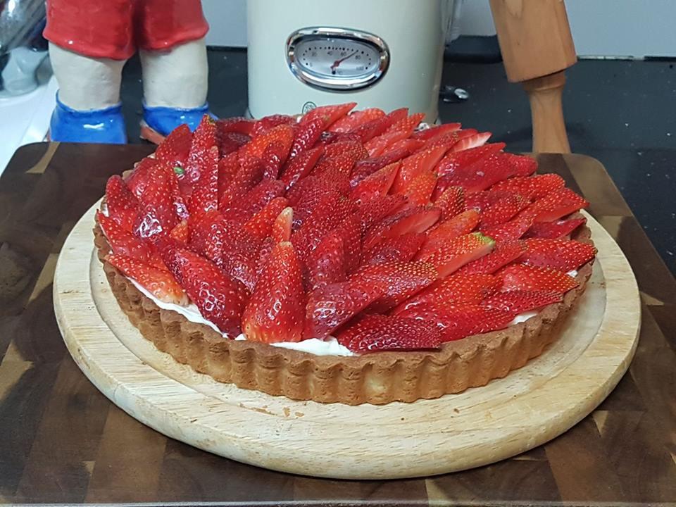 פאי תותים ללא גלוטן