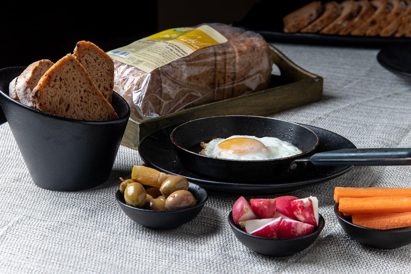 לחם טף כפרי בניחוח צרפתי